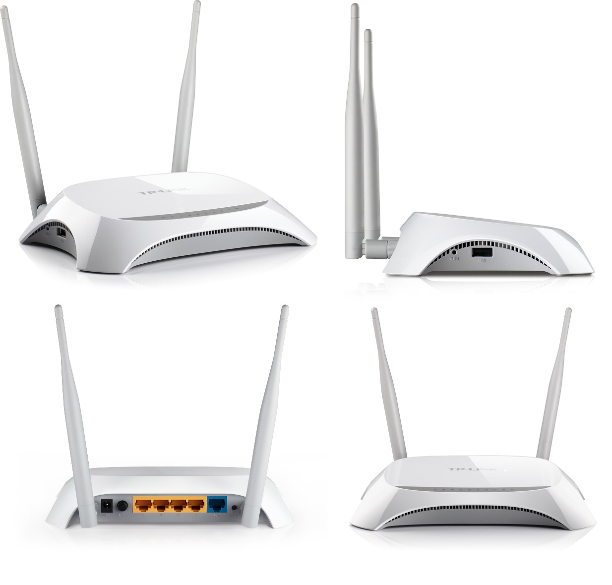 Gold One Tp Link Tl Mr3420 300m 3g 4g Wireless N Router Mr3020 Portable